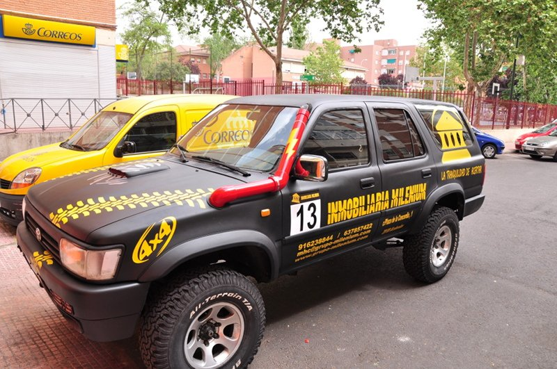 Rotulacion vehiculos madrid alcobendas y san sebasti n de for Rotulacion de vehiculos madrid